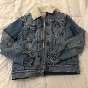 Pacsun Denim Jacket w/ Faux Fur